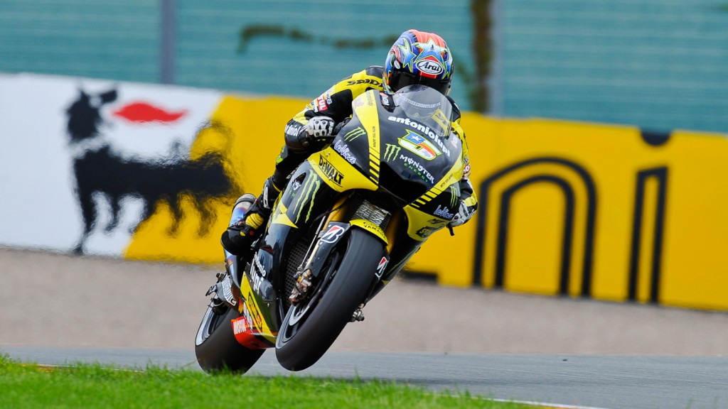 Colin Edwards, Monster Yamaha Tech3, Sachsenring RAC