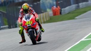 Valentino Rossi Ducati Sachsenring 2011