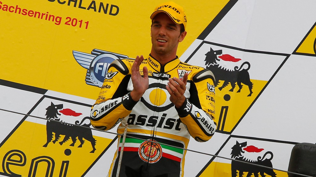 Alex De Angelis, JIR Moto2, Sanchsenring RAC