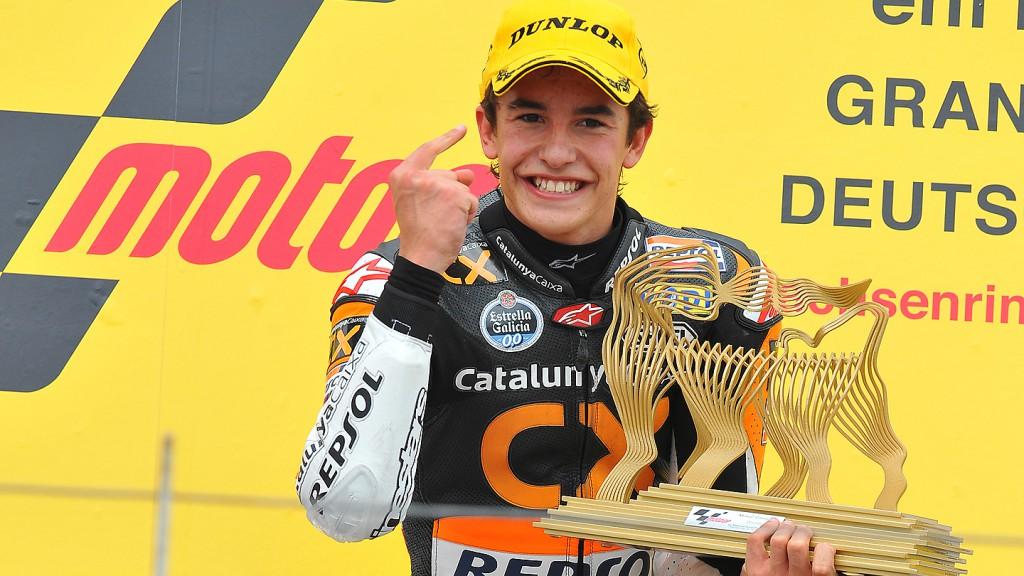 Marc Marquez, Team Catalunya Caixa Repsol, Sachsenring RAC