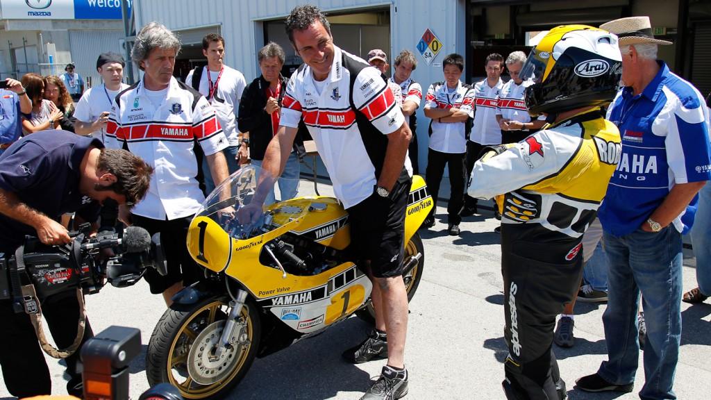 MotoGP Legend Kenny Roberts Sr, Laguna Seca