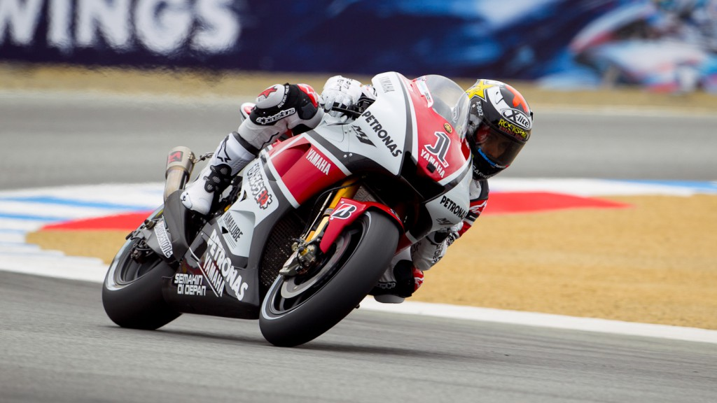Jorge Lorenzo, Yamaha Factory Racing, Laguna Seca FP2