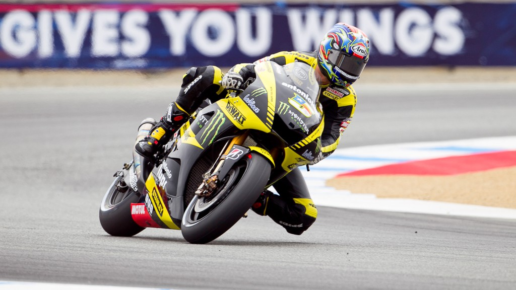 Colin Edwards, Monster Yamaha Tech3, Laguna Seca FP2