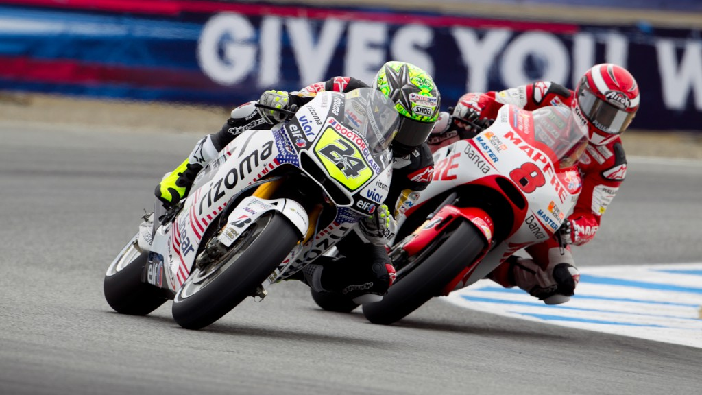 Toni Elias, Hector BArbera, LCR Honda MotoGP, Mapfre Aspar Team MotoGP Laguna Seca FP1