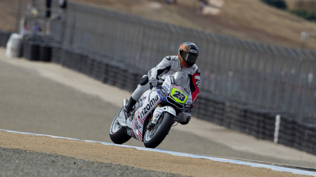 Ben Bostrom, LCR Honda Team, Laguna Seca