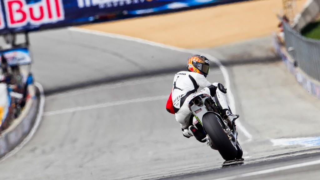 Ben Bostrom, LCR Honda Team, Laguna Seca FP2