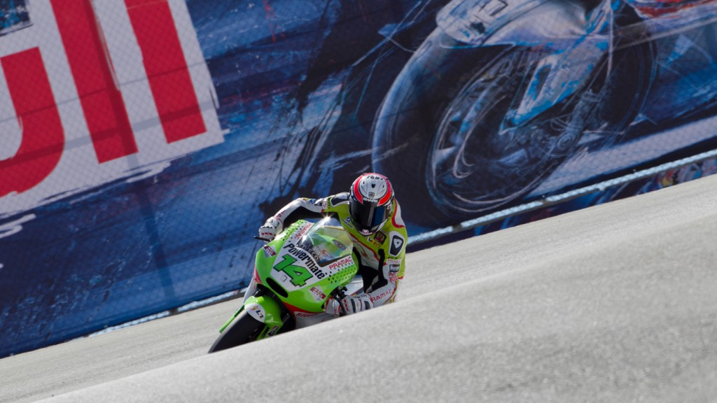 Randy de Puniet, Pramac Racing Team, Laguna Seca FP2