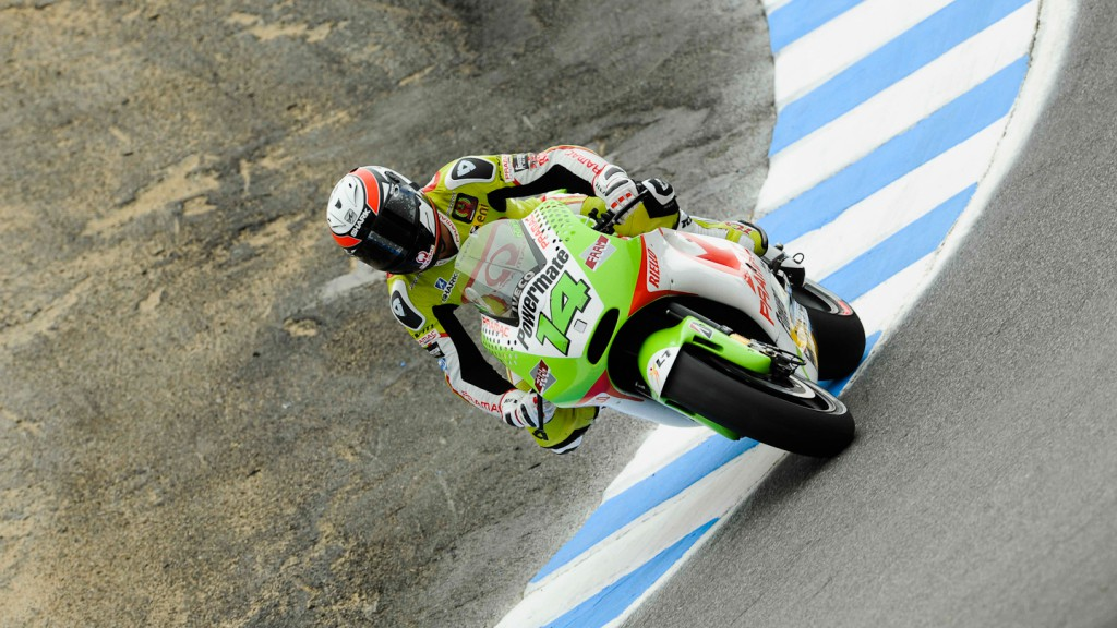 Randy de Puniet, Pramac Racing Team, Laguna Seca QP