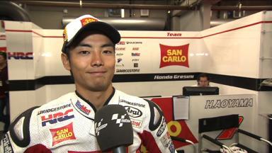 Laguna Seca 2011 - MotoGP - FP2 - Interview - Hiroshi Aoyama