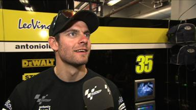 Crutchlow analyses first run at Laguna Seca