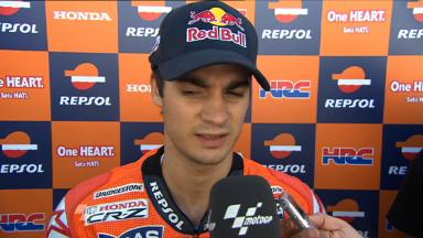 Pedrosa looks back on Laguna day one