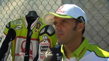 Capirossi continues to battle through pain