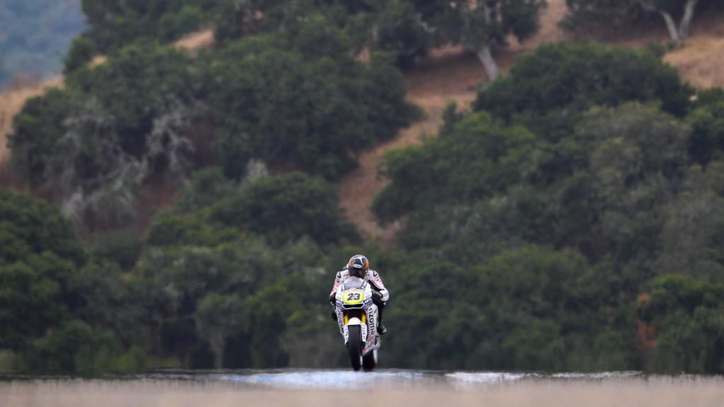 Ben Bostrom, LCR Honda Team, Laguna Seca FP3
