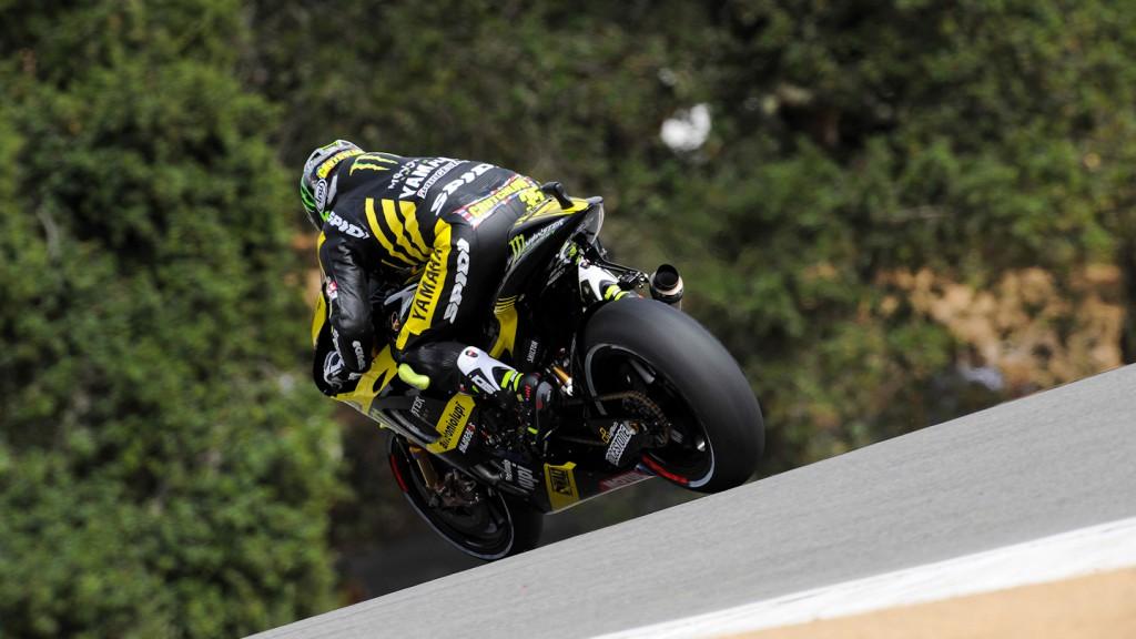 Cal Crutchlow, Monster Yamaha Tech 3, Laguna Seca QP