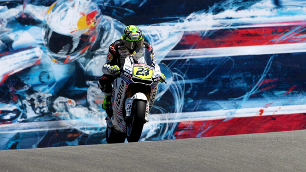 Toni Elias, LCR Honda MotoGP, Laguna Seca FP2