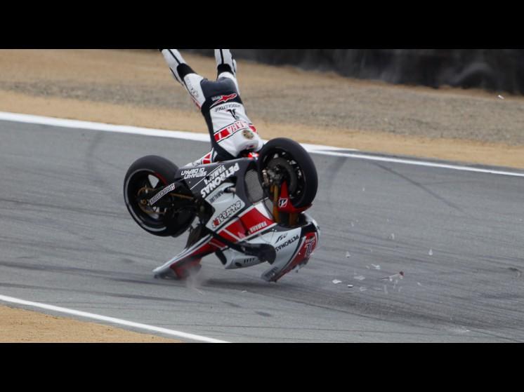 -Moto GP- Season 2011- - lorenzo crash usa fp310 slideshow