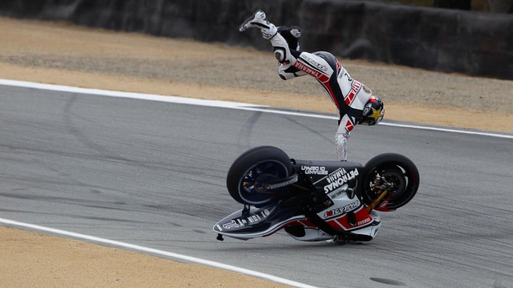 Jorge Lorenzo, Yamaha Factory Racing, Laguna Seca FP3