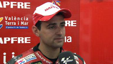 Barbera happy with QP result