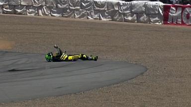 Laguna Seca 2011 - MotoGP - Race - Cal Crutchlow - Crash