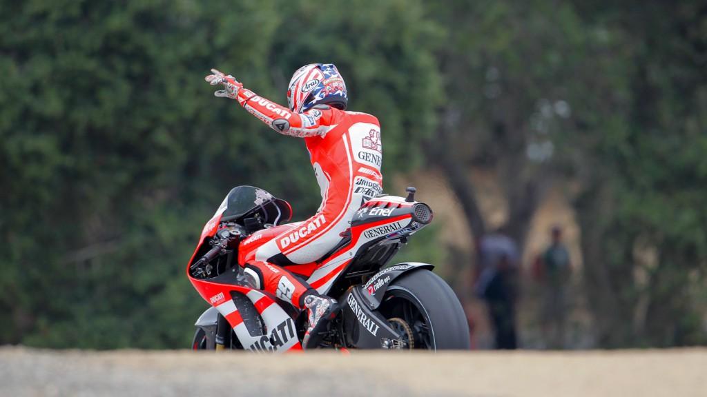 Nicky Hayden, Ducati Team, Laguna Seca RAC