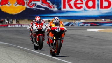 Andrea Dovzioso, Ben Spies, Repsol Honda Team, Yamaha Factory Racing