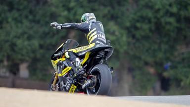 Cal Crutchlow, Yamaha Tech 3, Laguna Seca RAC