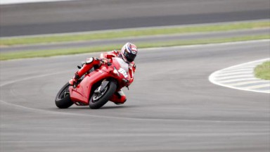 Nicky Hayden, Ducati Team, Indianapolis Test
