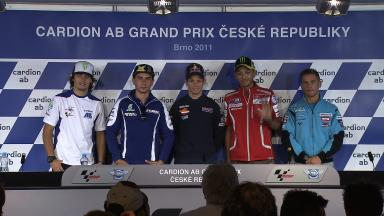 Cardion ab Grand Prix Ceské republiky Pre-event Press Conference