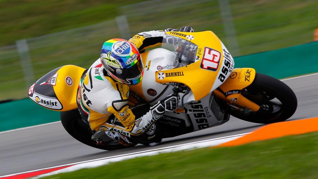 Alex de Angelis, JiR Moto2, Brno FP1