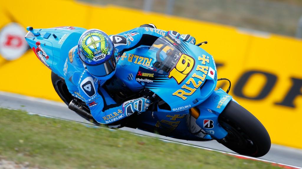 Alvaro Bautista, Rizla Suzuki MotoGP, Brno FP2