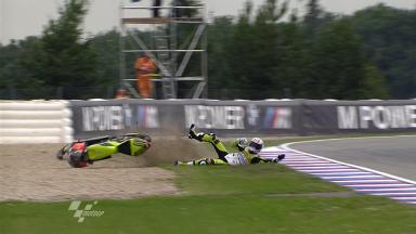 Brno 2011 - 125cc - FP2 - Adrián Martín- Crash