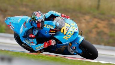 John Hopkins, Rizla Suzuki MotoGP, Brno FP2