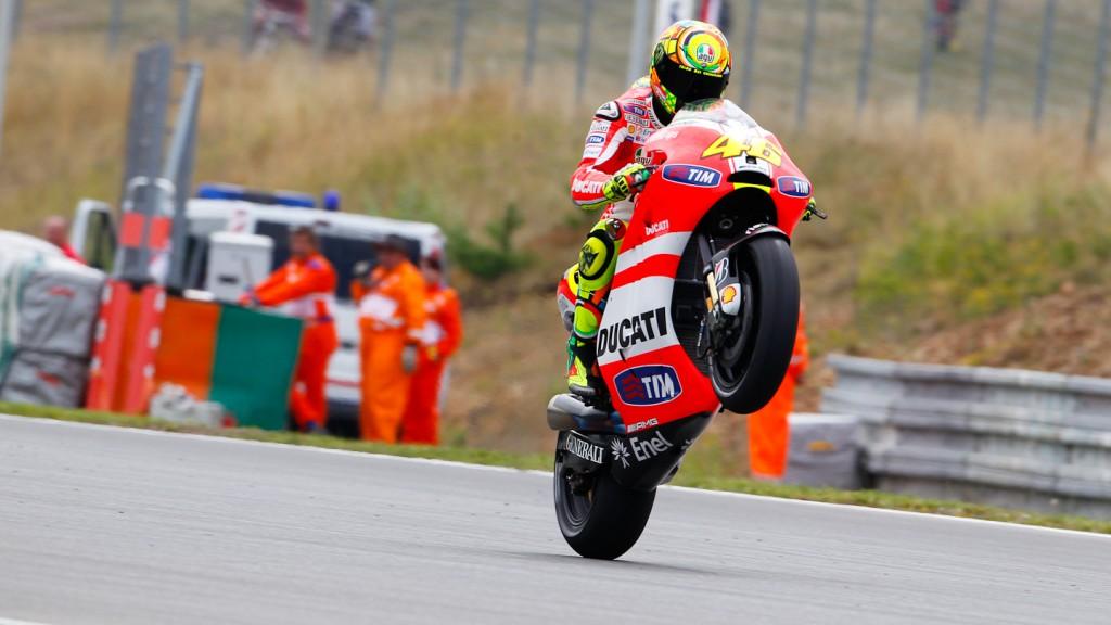 Valentino Rossi, Ducati Team, Brno, FP2