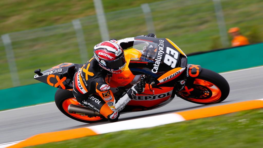 Marc Marquez, Team CatalunyaCaixa, Brno FP2