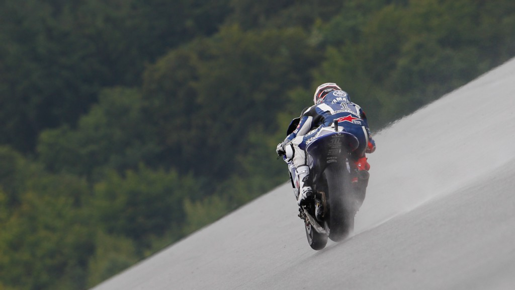 Jorge Lorenzo, Yamaha Factory Racing, Brno FP3