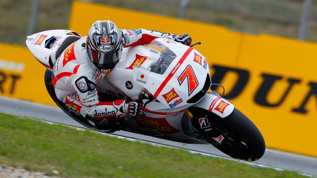 Hiroshi Aoyama, San Carlo Honda Gresini, Brno QP