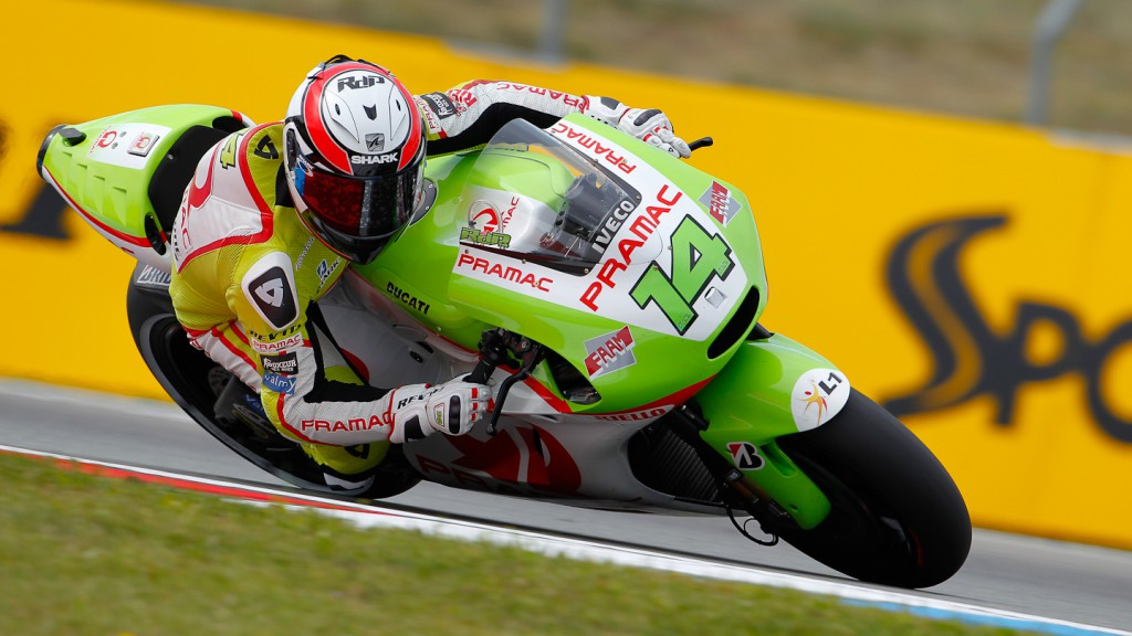 Randy de Puniet, Pramac Racing Team, Brno QP