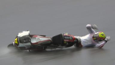 Brno 2011 - 125cc - FP3 - Action - Taylor Mackenzie  - Crash