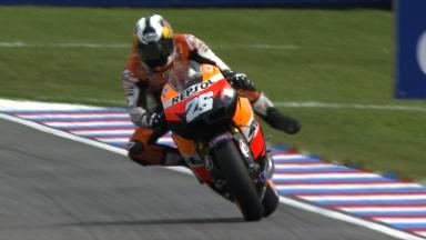 Brno 2011 - MotoGP - QP - Action - Dani Pedrosa  - Crash