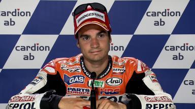 Brno 2011 - MotoGP - QP - Interview - Dani Pedrosa