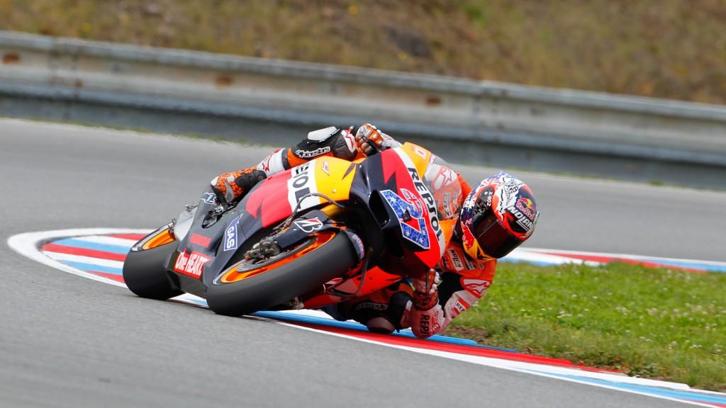 Casey Stoner, Repsol Honda Team, Brno QP