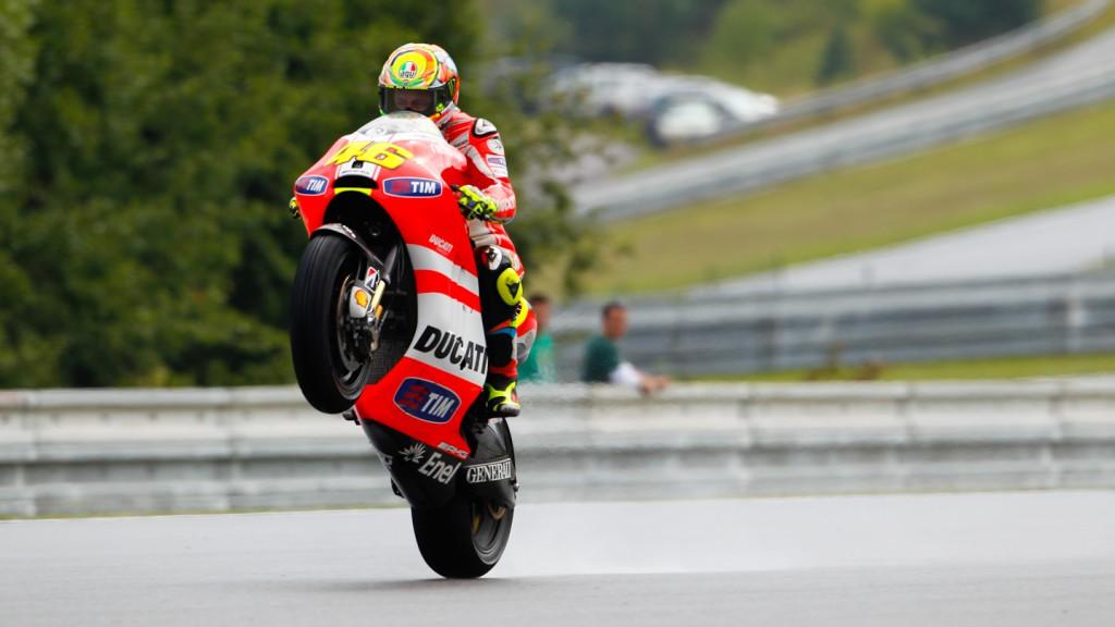 Valentino Rossi, Ducati Team, Brno FP3