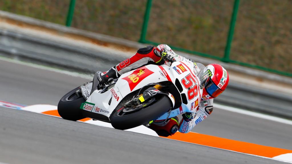 Marco Simoncelli, San Carlo Honda Gresini, Brno QP