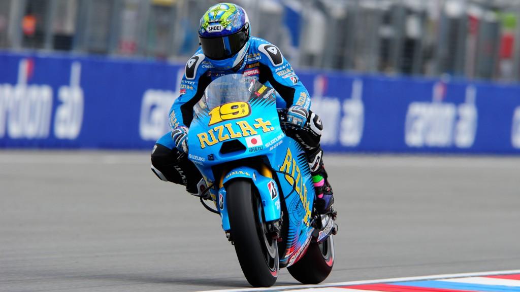 Alvaro Bautista, Rizla Suzuki MotoGP, Brno QP