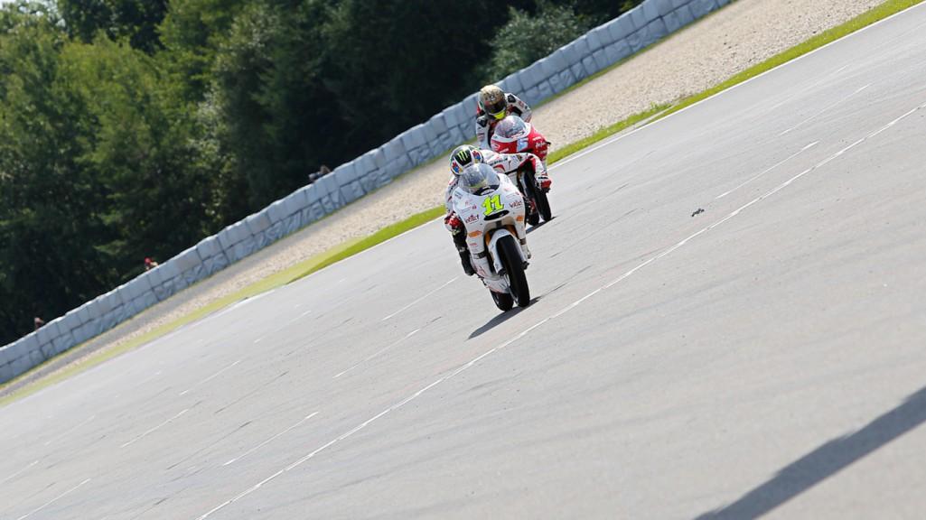 Sandro Cortese, Johann Zarco, Intact-Racing Team Germany, Avant-AirAsia-Ajo, Brno RAC
