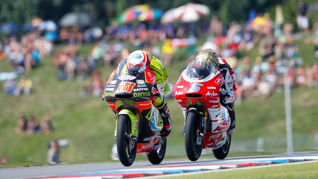 Nico Terol, Johann Zarco, Bankia Aspar Team 125cc, Avant-AirAsia-Ajo, Brno RAC