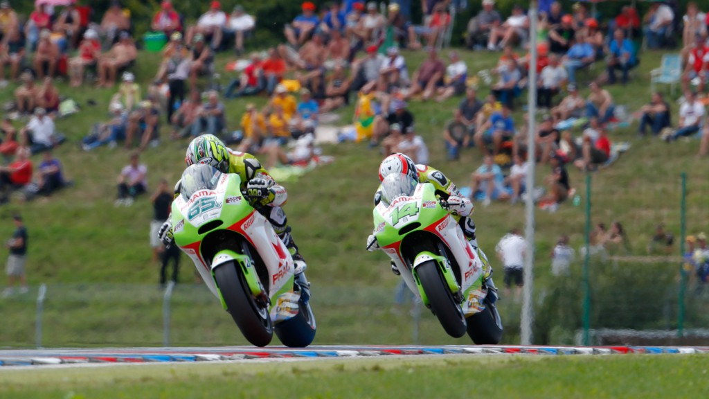 Randy de Puniet, Loris Capirossi, Pramac Racing Team, Brno RAC