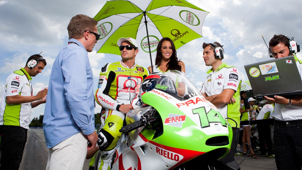 Randy de Puneit, Pramac RAcing, Brno RAC - © Copyright Alex Chailan & David Piolé