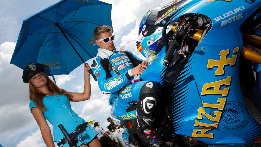 Alvaro Bautista, Rizla Suzuki MotoGP, Brno RAC