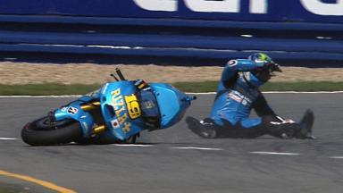 Brno 2011 - MotoGP - Race - Action - Alvaro Bautista  - Crash